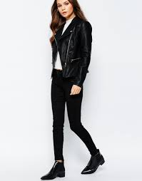 new look faux leather biker jacket previous next