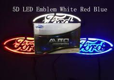 35 best 4d car led emblem images on pinterest red color, car logos Large Ford Logo at Illuminated Emblems Ford Wiring Diagram