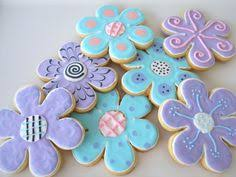 decorated flower sugar cookies. Perfect Decorated Flower Sugar Cookie Favors Garden Party Custom Colors Pink Blue Purple  Daisy Decorated Cookies Birthday Baby Or Bridal Hostess Gift On Etsy To Decorated Cookies R
