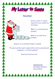 My Letter To Santa Orange In Word And Pdf Formats
