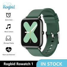 Big Sale #e6b2 - <b>Rogbid Rowatch 1</b> Smart Watch Women Full ...
