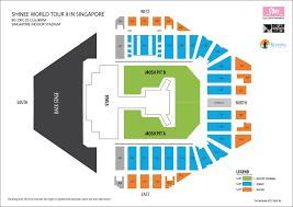 National Stadium Singapore Concert Seating Chart