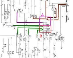 picture of fuse box 73 series 3 but if you look carefully i ve put thin black lines outside of the white wires to the fuse box in the schematic below to highlight the white wires