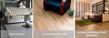 faq high end resilient flooring herf how it differs from laminate and conventional vinyl flooring