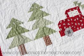 Christmas Quilt Patterns Custom Vintage Christmas Quilt Pattern Confessions Of A Homeschooler