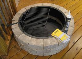 inspirational wood fire pit parts articles with stone