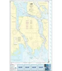 Noaa Chart 14887 St Marys River Mercator Projection