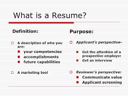 Definition For Resumes Kordurmoorddinerco Best Resume Def