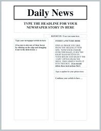 Word Newspaper Template 2 1 Article Microsoft 2013