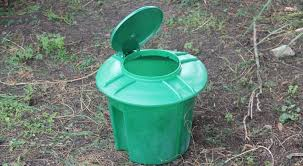 the doggydooley dog waste disposal before it is buried in the ground poop g3