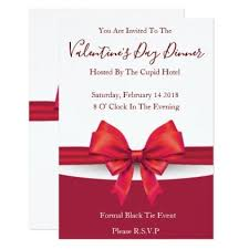 Valentines Day Invitations Classy Romantic Red Valentines Invitations Invitations Pinterest