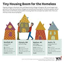 Small Picture Tiny Houses for the Homeless An Affordable Solution Catches On