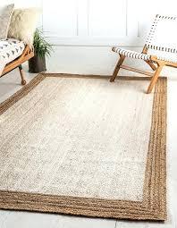 white jute rug uk