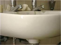 chipped porcelain tub porcelain repair damaged porcelain sink unit in now red and repaired how chipped porcelain tub bathtub chip repair