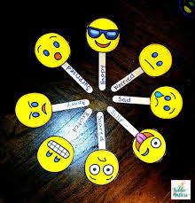 Emotion Chart For Kids Emoji Feeling Faces Feelings Recognition Kiddie Matters