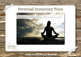 Personal Inventory Personal Inventory Seren Holistic Lifestyles