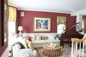Paints For Living Room Burgundy Paint Color For Living Room