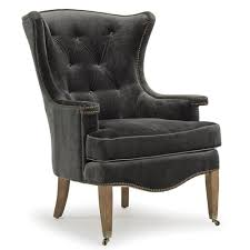 Regina Andrew Design Home Estate Wing Chair Charcoal 32 1018