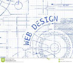 Web Design Graph Paper Machine Stock Vector Illustration Of Site
