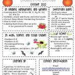 october newsletter ideas october newsletter ideas preschool 8 best kinder parents newsletter