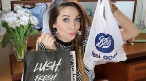 huge beauty cosmetics haul zoella