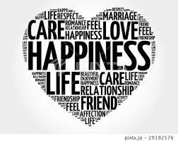Happiness Word Cloud Collageのイラスト素材 29192576 Pixta