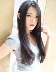大人の黒髪セクシーストレートhi 35 ヘアカタログ髪型ヘア