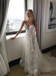 2017 Custom Made White Lace Wedding Dress Sexy Spaghetti Straps