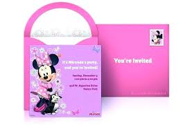 Free Minnie Mouse Birthday Invitations Free Printable Minnie Mouse Birthday Party Invitations