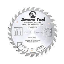 amana saw blades. amana tool 610301 glue line ripping 10-inch x 30 tooth tcg 5/8 bore saw blade blades t