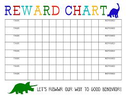 Pokemon Behaviour Chart 8 Beary Good Behavior Chart Black And White Printable Star