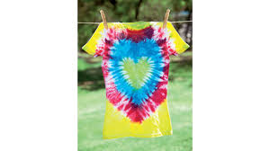 Tie Dye Heart Design Tie Dye 101 Heart Design T Shirt