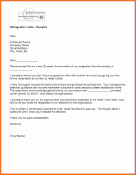 How To Write 2 Week Notice How To Write A Resignation Letter Via Email Resume Samples