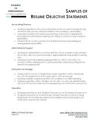 Objective Statement For Administrative Assistant Resume Administrative Assistant Objective Statement Vexilor Pos