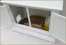 diy cat litter box cabinet