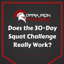 7 Day Squat Challenge Chart Does The 30 Day Squat Challenge Really Work The Surprising