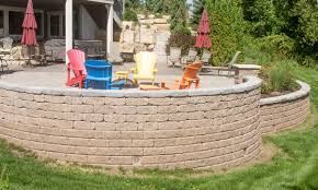 how to build a block retaining wall on slope if your yard sthis is the perfect