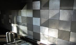 Metal Wall Tiles For Kitchen Awesome Kitchen Designs Metal Tile Wall Art Metal Wall Tiles For