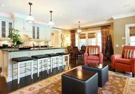 ... Paint Ideas For Open Living Room And Kitchen Simple Comfortable Style  Interior Furniture Creative Simple Elegant ... Nice Look