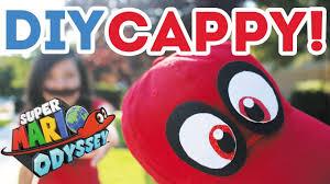 nerdy diy cappy from mario odyssey