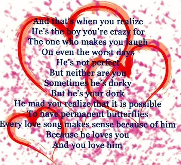 love poems for him from the heart teenage