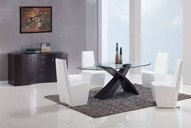 Oval Glass Kitchen Table - Black oval dining room table