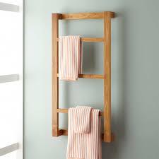 ... Wulan Teak Hanging Bathroom Towel Rack Bar Ideas: Glamorous Bathroom  Towel Rack Design ...