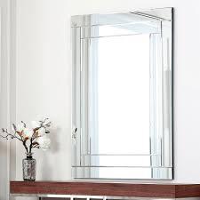 frameless mirrors for bathrooms. ABBYSON LIVING Fairmont Rectangle Wall Mirror - Overstock Shopping Great Deals On Abbyson Living Mirrors Frameless For Bathrooms A