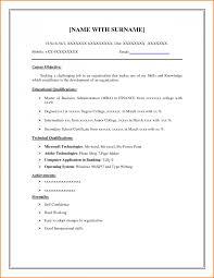 8 Printable Sample Resume Templates Skills Based Resume