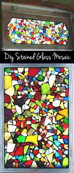 diy stained glass how to make a stained glass mosaic window diy stained glass window with diy stained glass