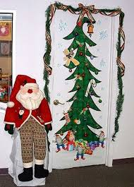 christmas office door decoration. Funny Christmas Office Door Decoration A