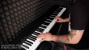 <b>Цифровое пианино YAMAHA</b> P-45 (P-45B) - YouTube