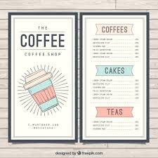 Catering Food Menu Template Download Cafe Free Tri Fold Brochure ...