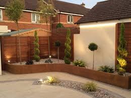 external wall cladding garden walling